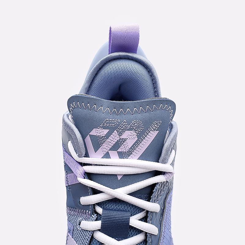 женские синие  кроссовки jordan why not zero.4 (gs) CQ9430-400 - цена, описание, фото 7