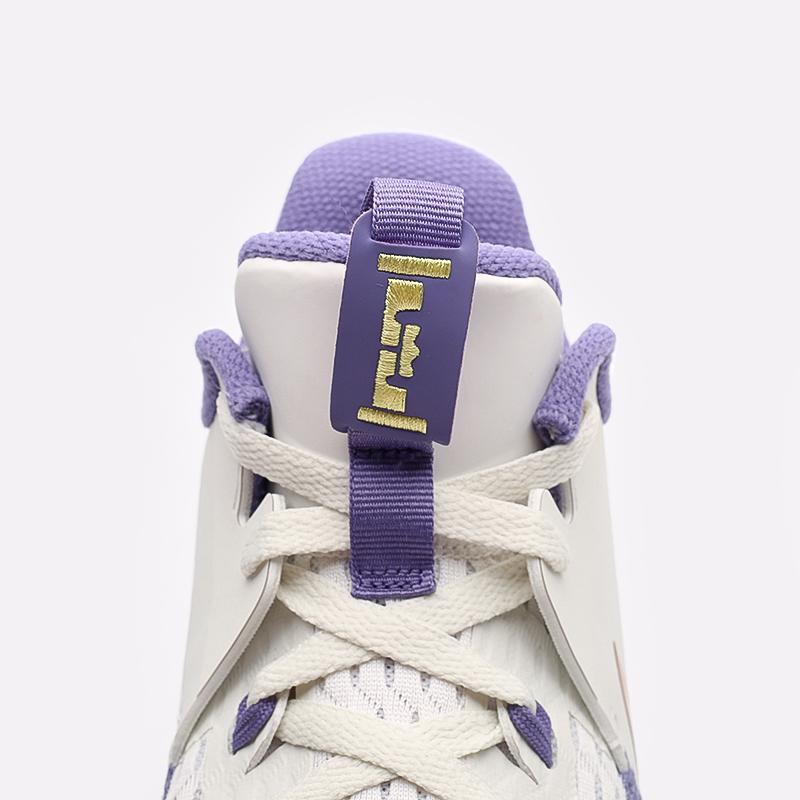 мужские бежевые  кроссовки nike lebron witness v CQ9380-102 - цена, описание, фото 7