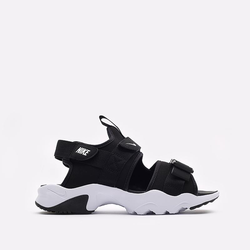 мужские чёрные  сандалии nike canyon sandal CI8797-002 - цена, описание, фото 1