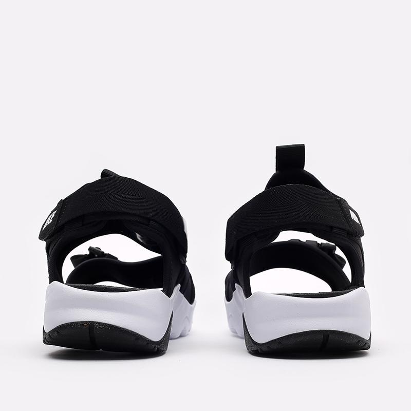 мужские чёрные  сандалии nike canyon sandal CI8797-002 - цена, описание, фото 4