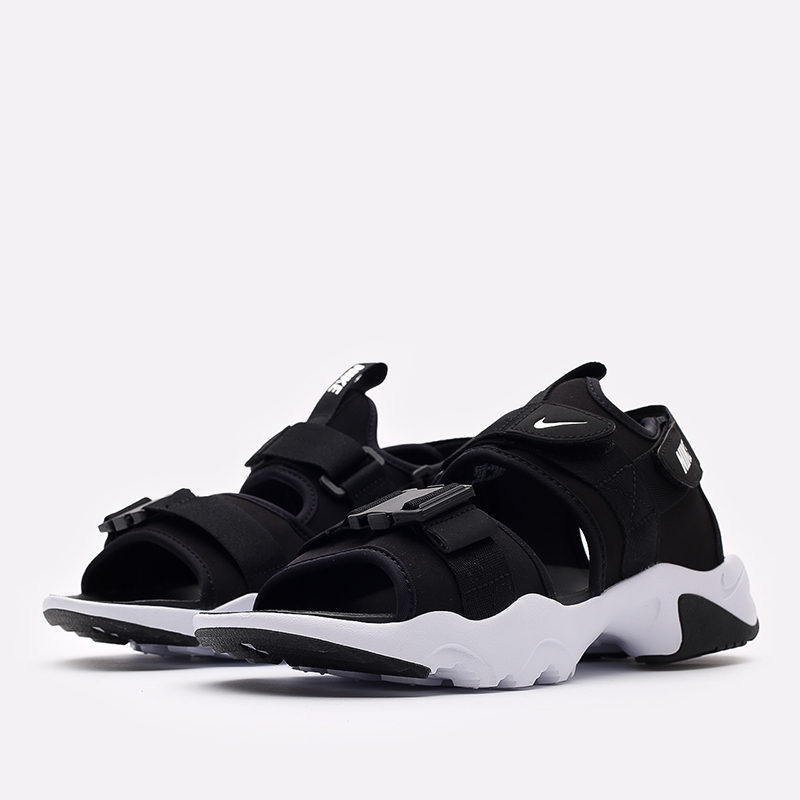 мужские чёрные  сандалии nike canyon sandal CI8797-002 - цена, описание, фото 2