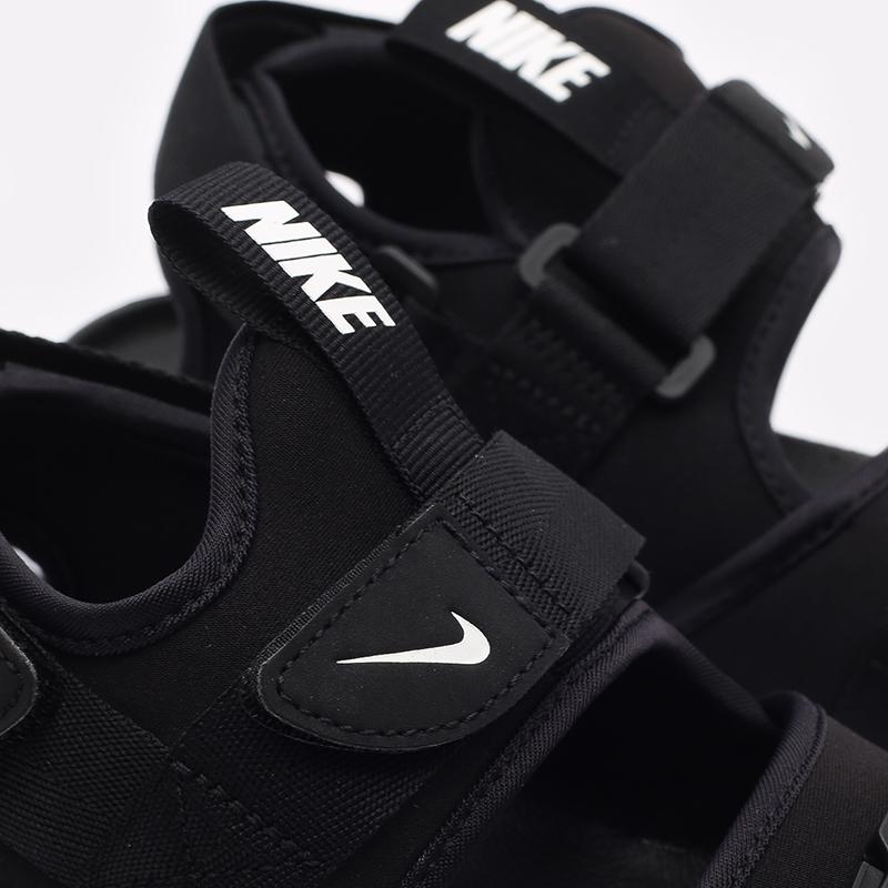 мужские чёрные  сандалии nike canyon sandal CI8797-002 - цена, описание, фото 5