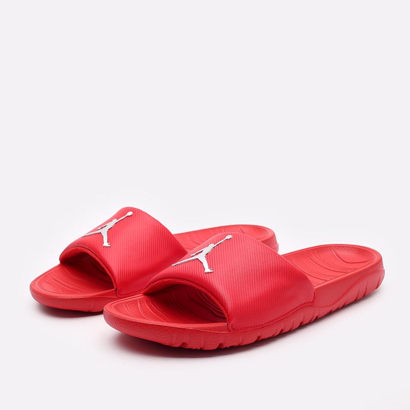 мужские красные  сланцы jordan break slide AR6374-602 - цена, описание, фото 2