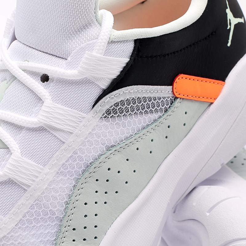 мужские зелёные, белые, чёрные  кроссовки jordan 11 cmft low CW0784-300 - цена, описание, фото 6