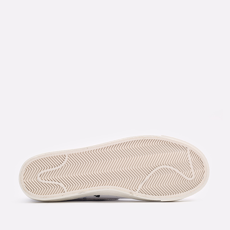 мужские белые  кроссовки nike blazer mid '77 DC7331-100 - цена, описание, фото 4