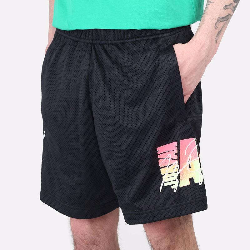 мужские черные  шорты  jordan sport dna mesh shorts CZ4855-010 - цена, описание, фото 1