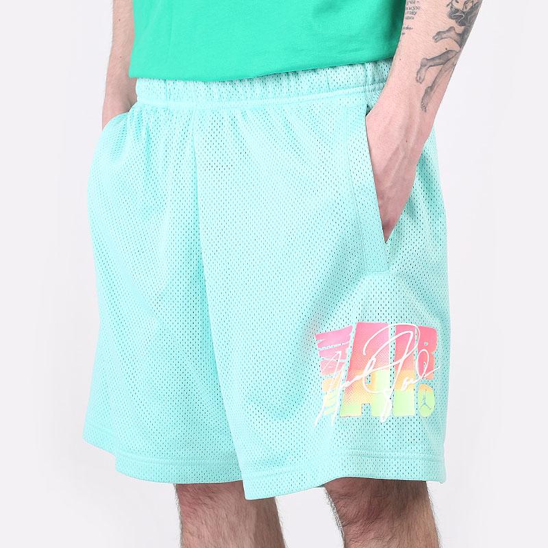 мужские голубые  шорты  jordan sport dna mesh shorts CZ4855-307 - цена, описание, фото 1
