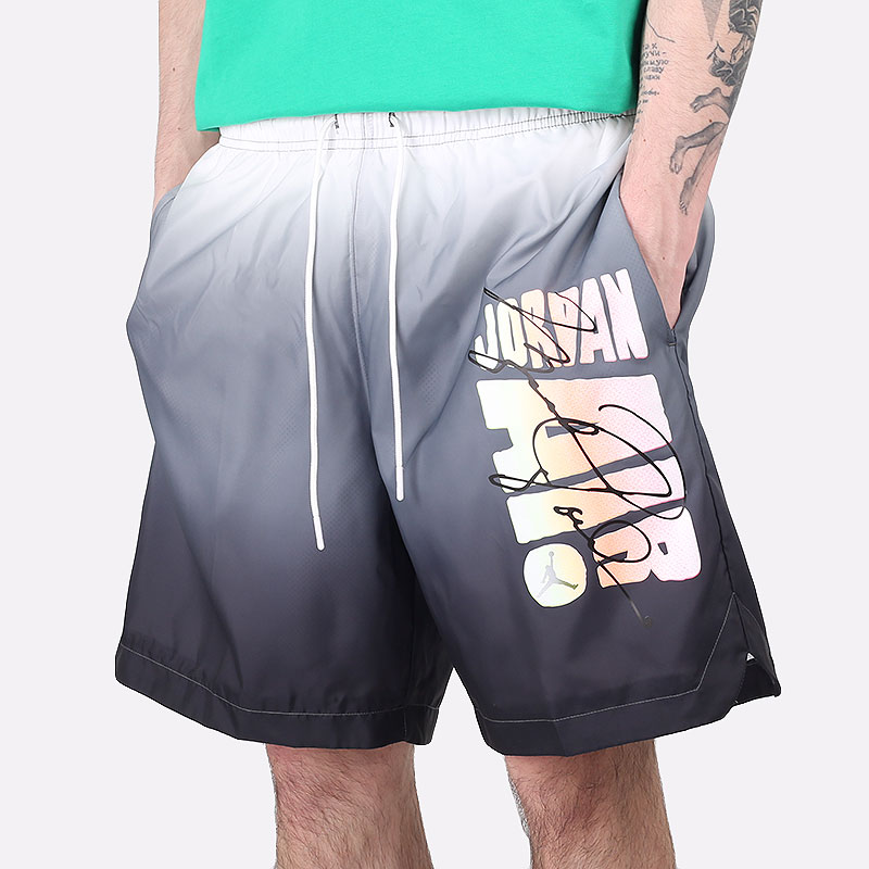 мужские серые  шорты  jordan sport dna pool shorts CZ4849-010 - цена, описание, фото 1