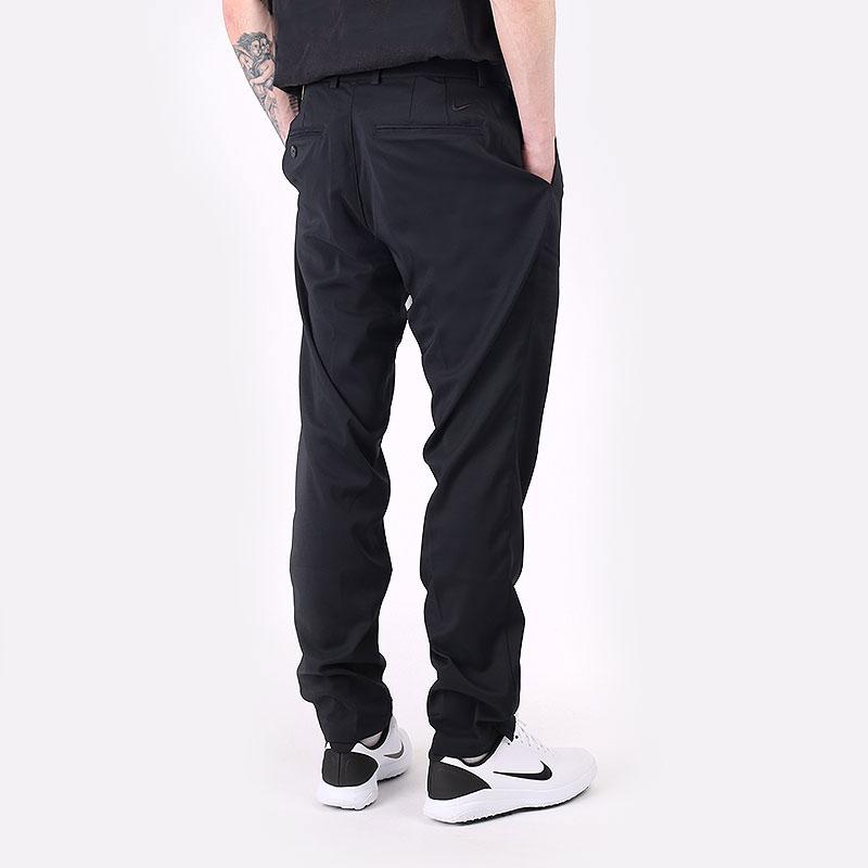 мужские черные  брюки nike flex core slim fit golf pants AJ5491-010 - цена, описание, фото 6