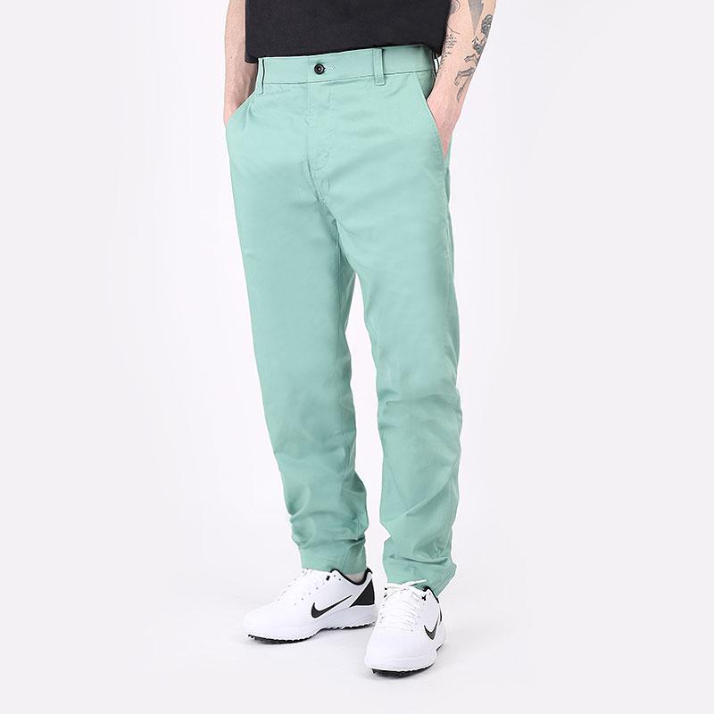 мужские зеленые  брюки nike golf pants DA4130-316 - цена, описание, фото 1