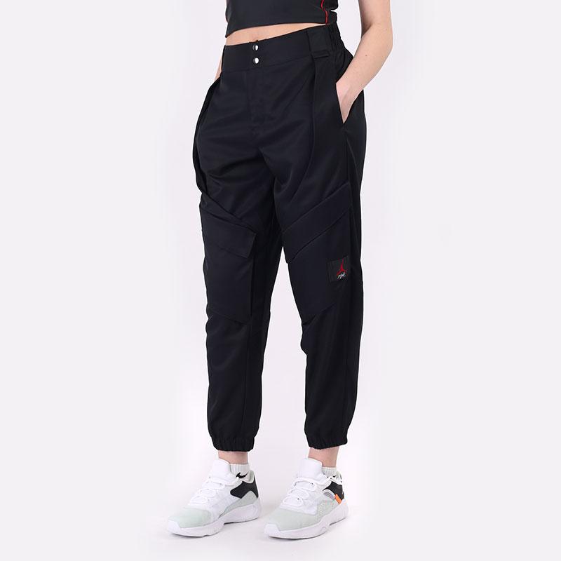 женские черные  брюки jordan essentials utility pants CW6450-010 - цена, описание, фото 1