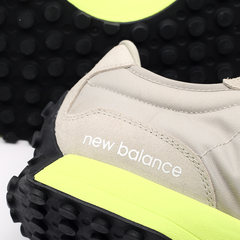 мужские бежевые  кроссовки new balance 327 MS327CPA/D - цена, описание, фото 5