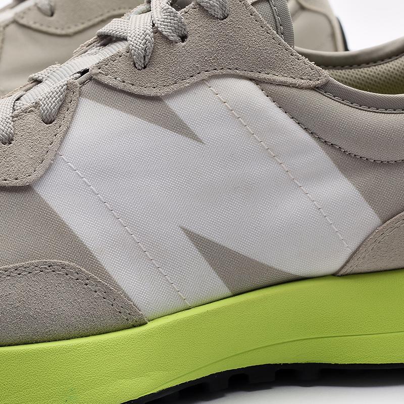мужские бежевые  кроссовки new balance 327 MS327CPA/D - цена, описание, фото 6