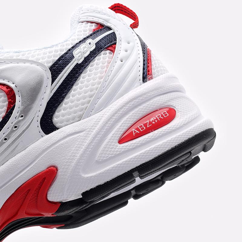 мужские белые  кроссовки new balance 530 MR530UIX/D - цена, описание, фото 7