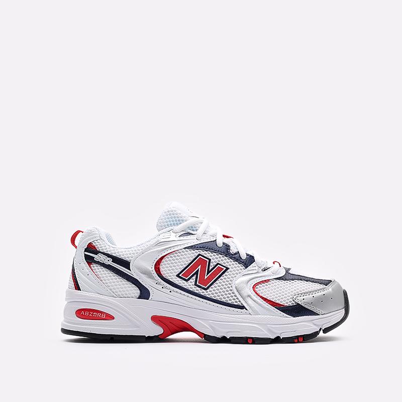 мужские белые  кроссовки new balance 530 MR530UIX/D - цена, описание, фото 1
