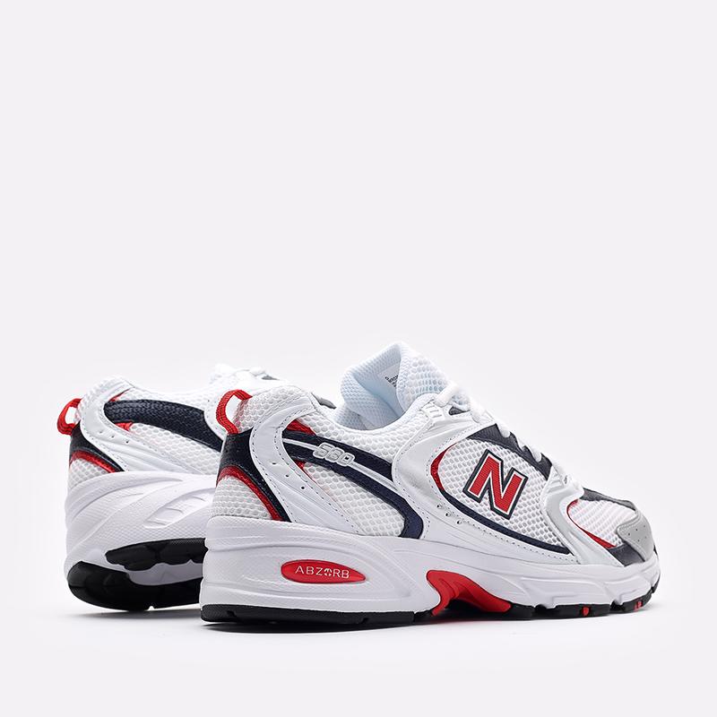 мужские белые  кроссовки new balance 530 MR530UIX/D - цена, описание, фото 3