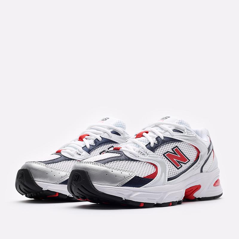 мужские белые  кроссовки new balance 530 MR530UIX/D - цена, описание, фото 2