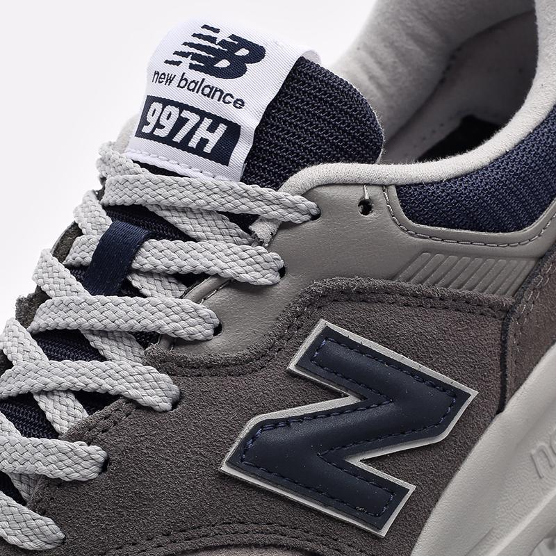 мужские серые  кроссовки new balance 997 CM997HAX/D - цена, описание, фото 7