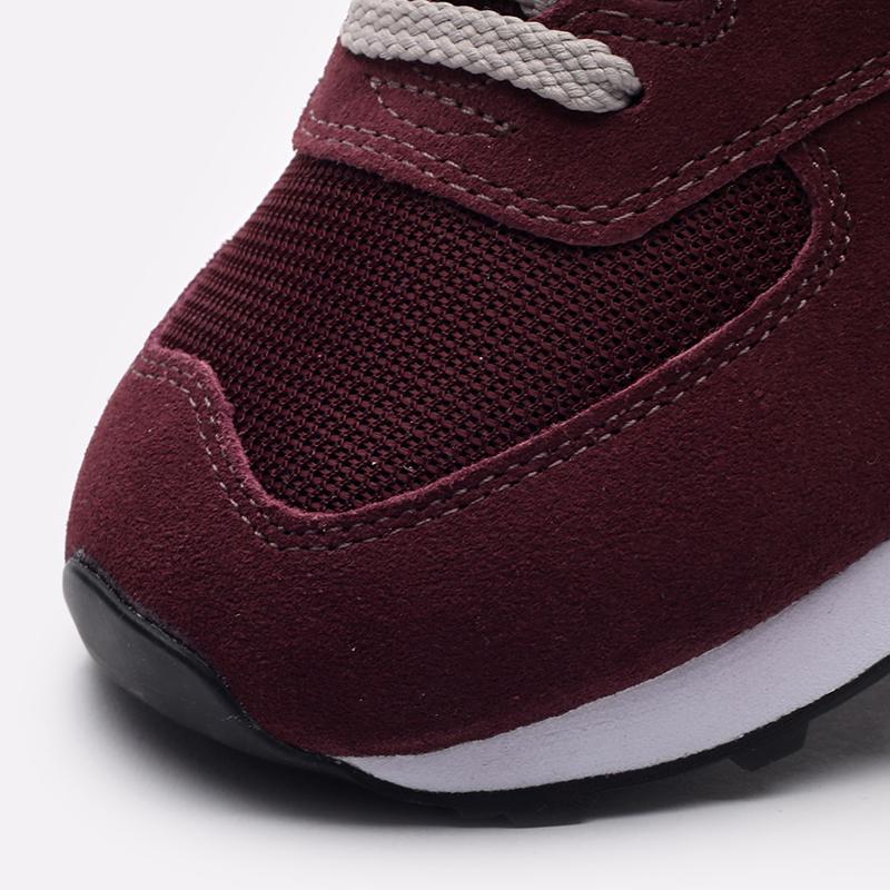 мужские бордовые  кроссовки new balance 574 ML574EGB/D - цена, описание, фото 5