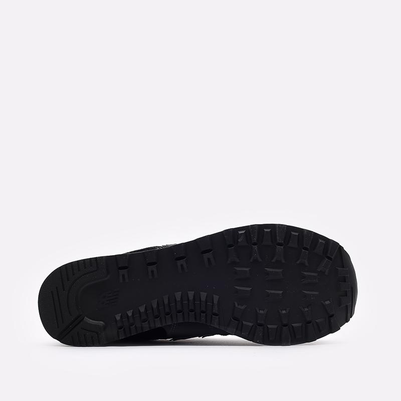 мужские чёрные  кроссовки new balance 574 ML574EGK/D - цена, описание, фото 3