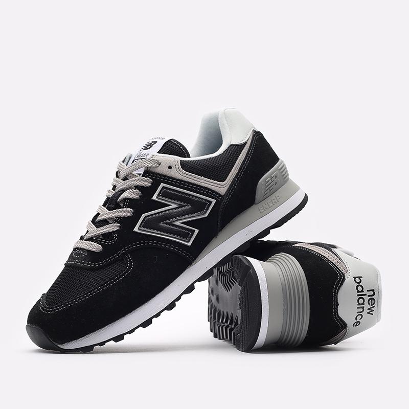 мужские чёрные  кроссовки new balance 574 ML574EGK/D - цена, описание, фото 7