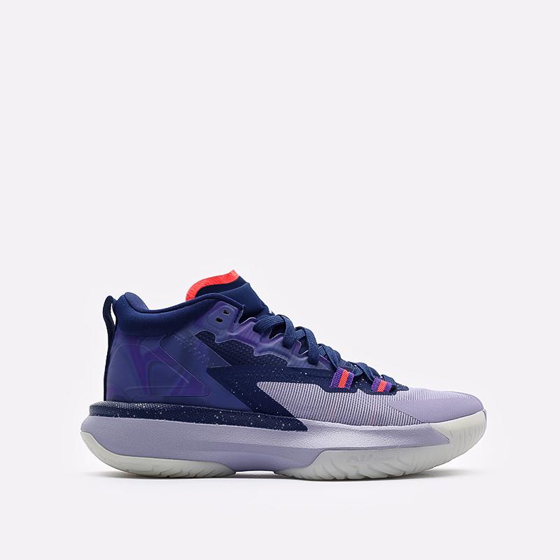 мужские синие  кроссовки jordan zion 1 DA3130-400 - цена, описание, фото 1