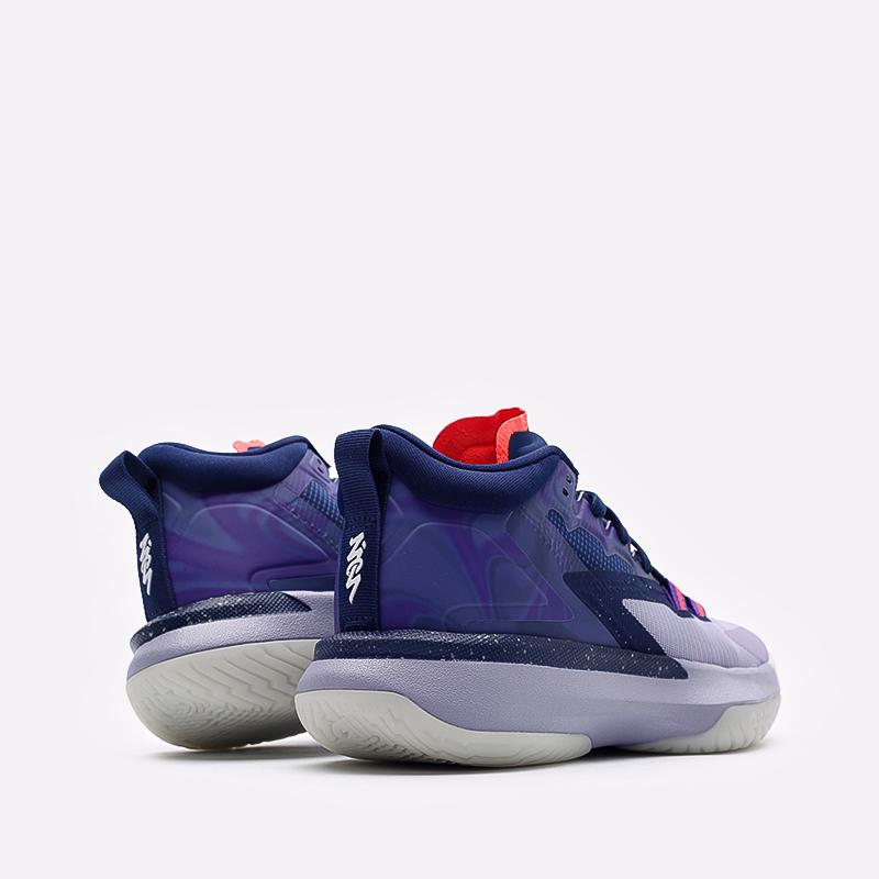 мужские синие  кроссовки jordan zion 1 DA3130-400 - цена, описание, фото 3