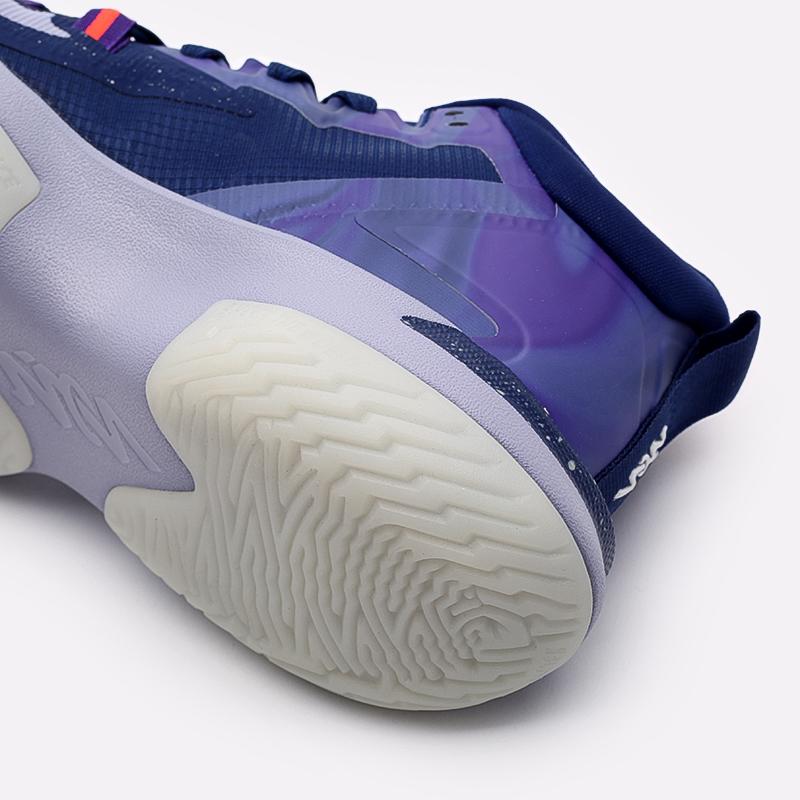 мужские синие  кроссовки jordan zion 1 DA3130-400 - цена, описание, фото 5