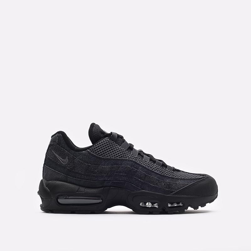 мужские чёрные  кроссовки nike air max 95 og DM2816-001 - цена, описание, фото 1