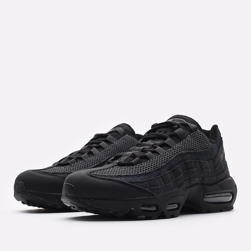 мужские чёрные  кроссовки nike air max 95 og DM2816-001 - цена, описание, фото 2