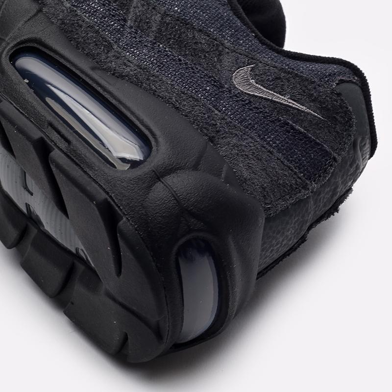 мужские чёрные  кроссовки nike air max 95 og DM2816-001 - цена, описание, фото 5