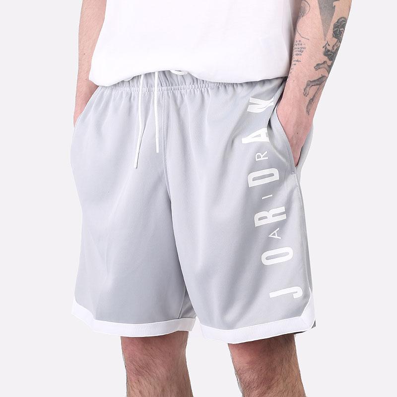 мужские серые  шорты  jordan jumpman gfx knit short CZ4760-077 - цена, описание, фото 1
