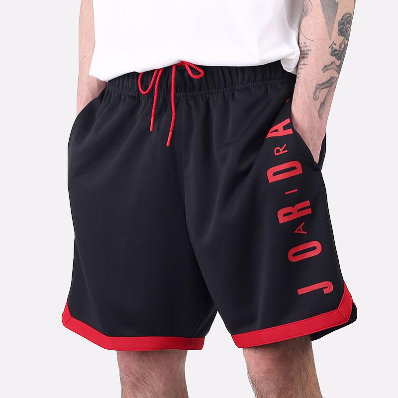 мужские черные  шорты  jordan jumpman gfx knit short CZ4760-010 - цена, описание, фото 1