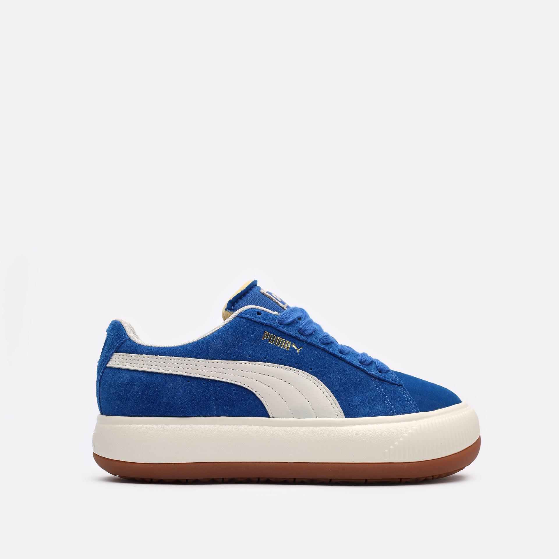 женские синие кроссовки PUMA Suede Mayu UP Wn's 38165001 - цена, описание, фото 1