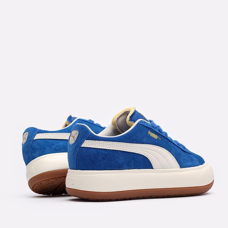 женские синие кроссовки PUMA Suede Mayu UP Wn's 38165001 - цена, описание, фото 6