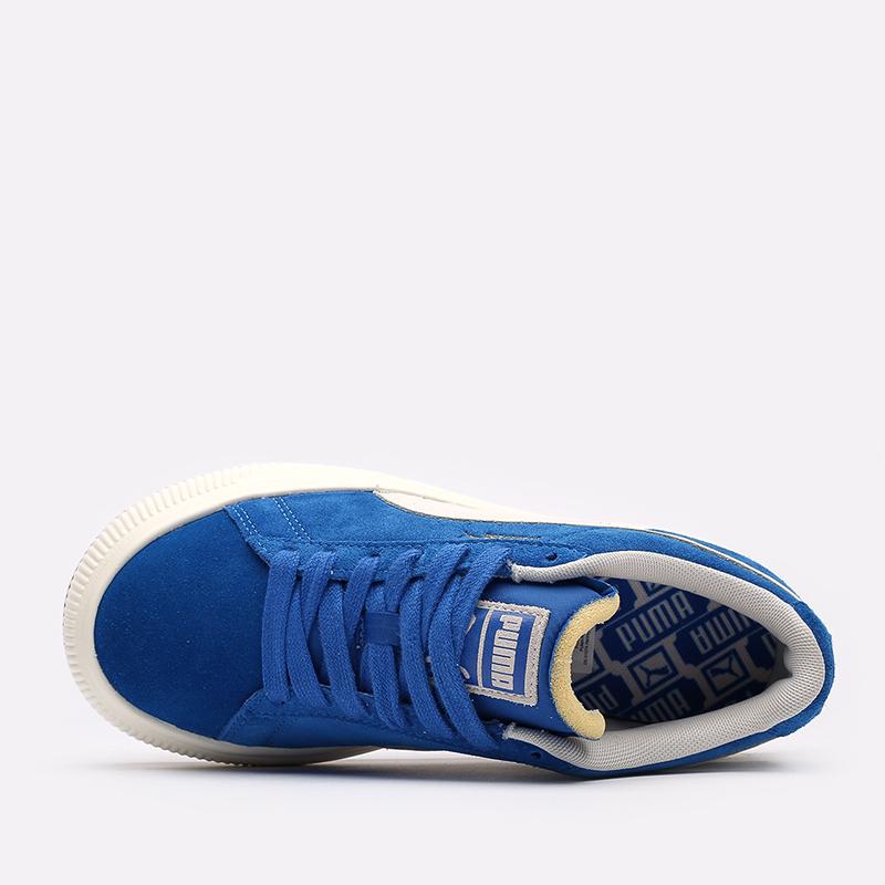 женские синие кроссовки PUMA Suede Mayu UP Wn's 38165001 - цена, описание, фото 4