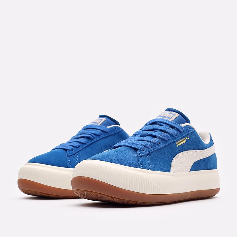 женские синие кроссовки PUMA Suede Mayu UP Wn's 38165001 - цена, описание, фото 2