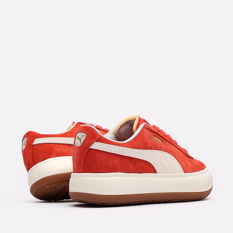 женские красные кроссовки PUMA Suede Mayu UP Wn's 38165002 - цена, описание, фото 6