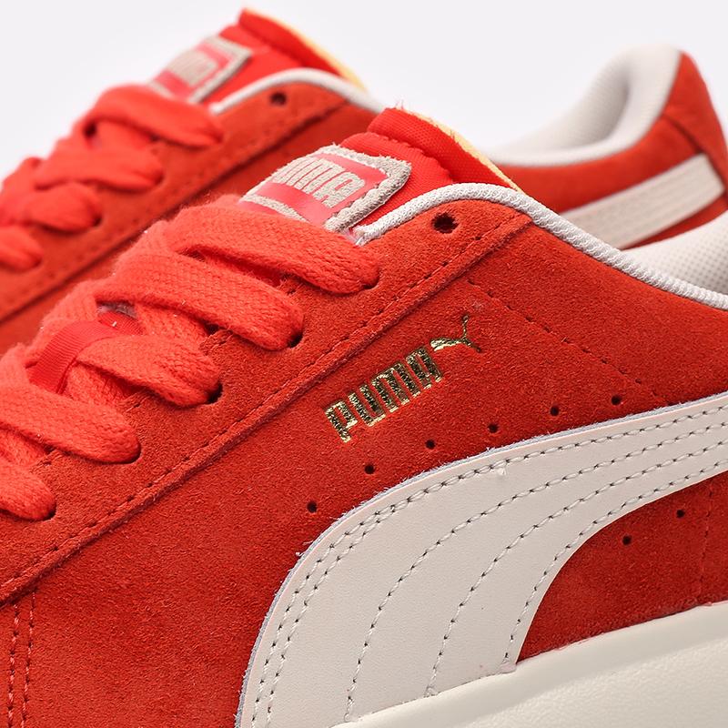 женские красные кроссовки PUMA Suede Mayu UP Wn's 38165002 - цена, описание, фото 5
