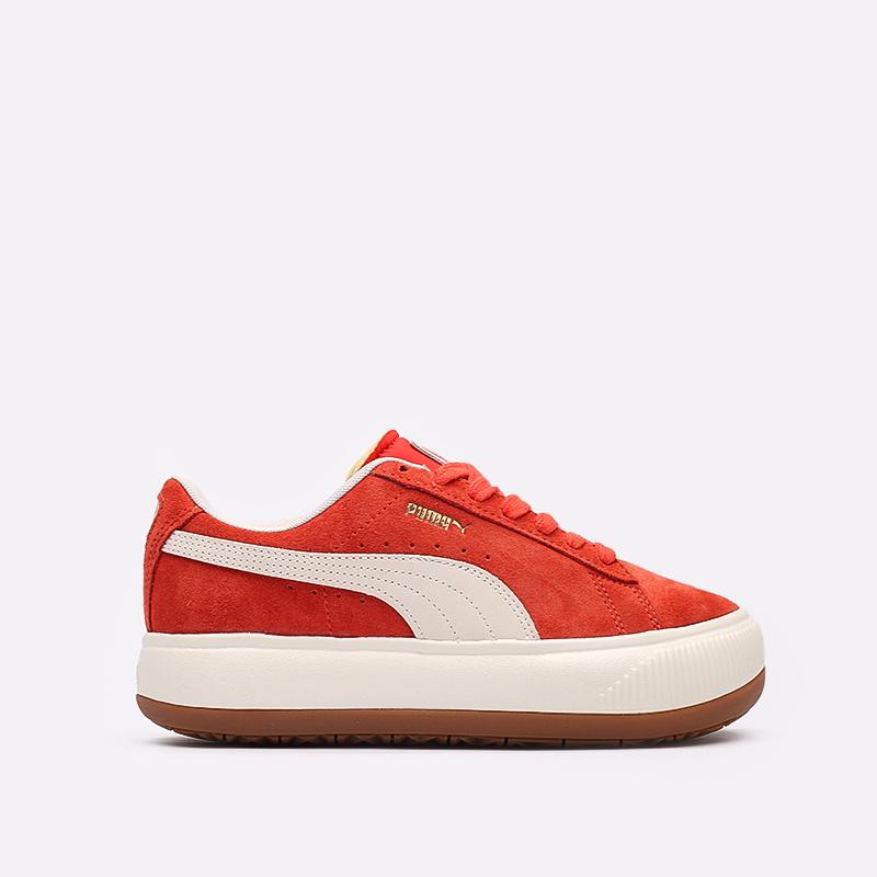 женские красные кроссовки PUMA Suede Mayu UP Wn's 38165002 - цена, описание, фото 1