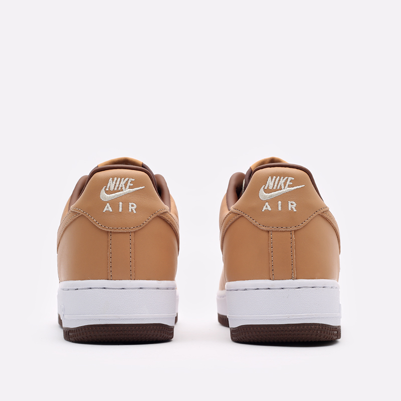 мужские бежевые  кроссовки nike air force 1 qs DJ6395-100 - цена, описание, фото 7