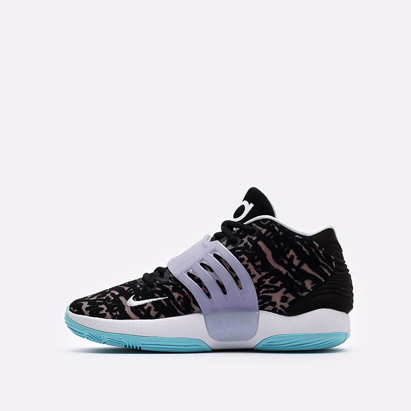 чёрные  кроссовки nike kd14 CW3935-001 - цена, описание, фото 2