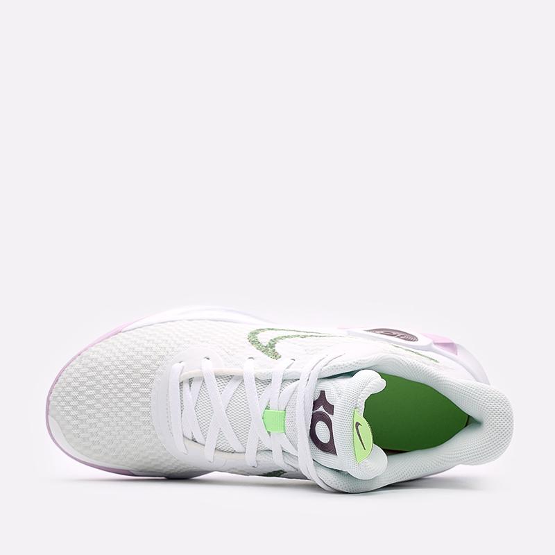 мужские белые  кроссовки nike kd trey 5 ix DJ6921-100 - цена, описание, фото 6