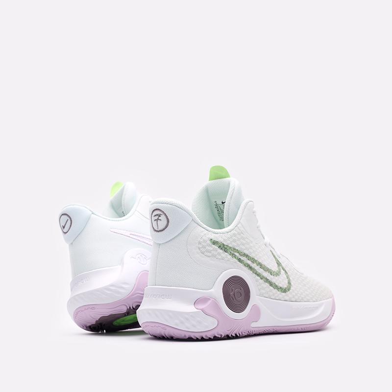 мужские белые  кроссовки nike kd trey 5 ix DJ6921-100 - цена, описание, фото 3