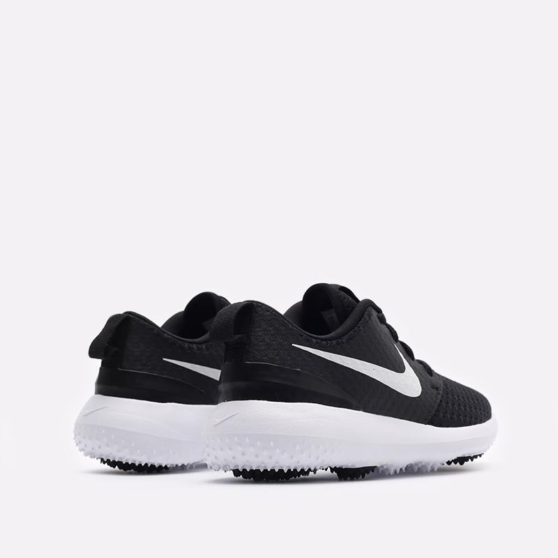 детские чёрные  кроссовки nike roshe g jr 909250-007 - цена, описание, фото 5