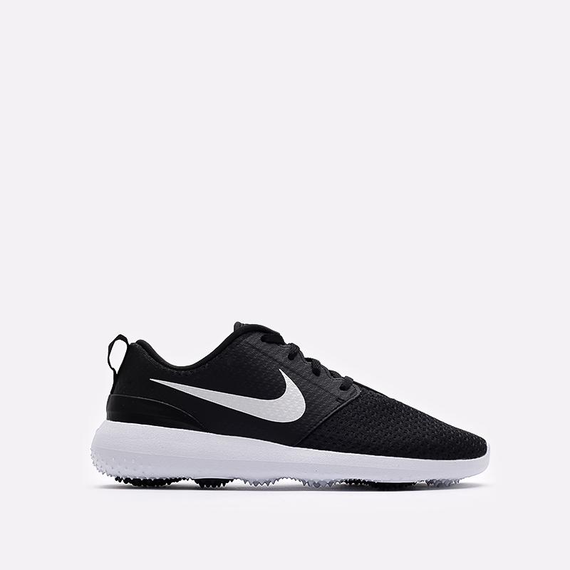 мужские черные кроссовки Nike Roshe G CD6065-001 - цена, описание, фото 1