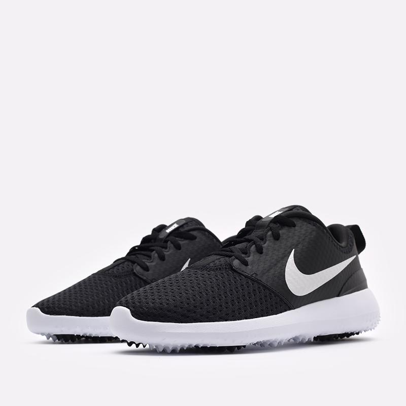 мужские черные кроссовки Nike Roshe G CD6065-001 - цена, описание, фото 2