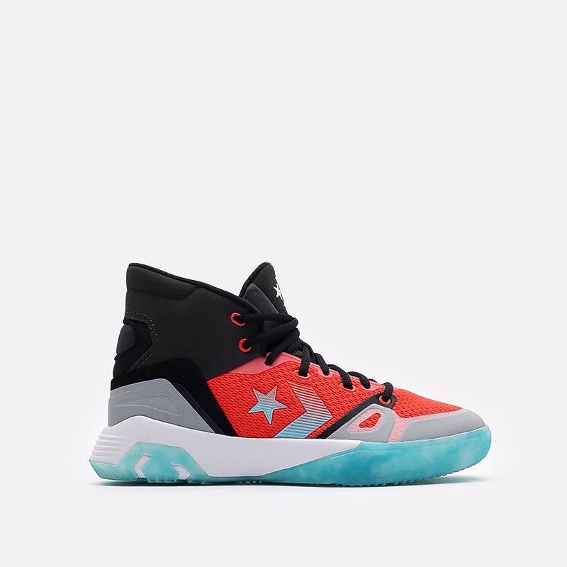 мужские разноцветные  кроссовки converse g4 hi 170762 - цена, описание, фото 1