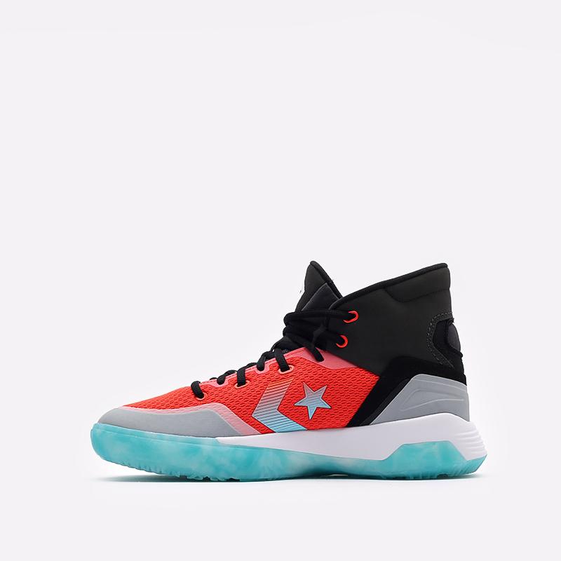 мужские разноцветные  кроссовки converse g4 hi 170762 - цена, описание, фото 2