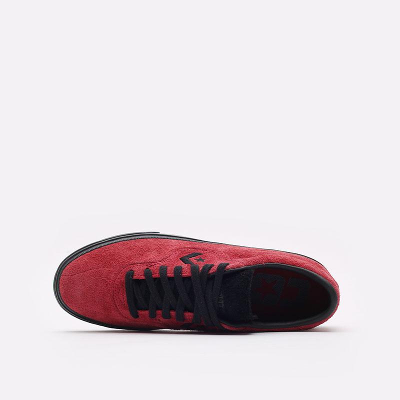 мужские красные  кеды converse louie lopez pro ox 170714 - цена, описание, фото 3